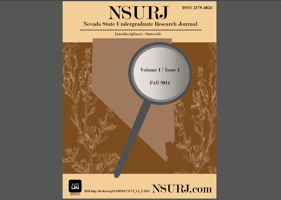 NSURJ Volume 1, Issue 1